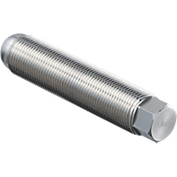 B Type, Stainless Steel, Fine Threaded