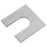Shims for base (1 groove): for pillow blocks